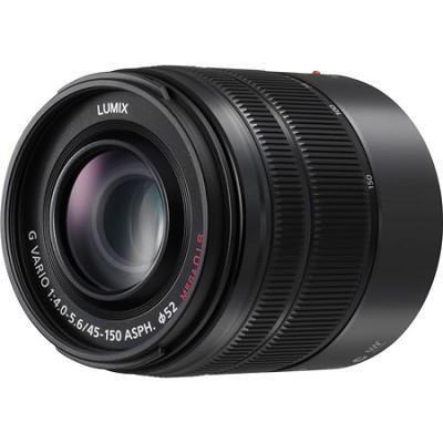 LUMIX G VARIO 45-150mm H-FS45150 Black Lens