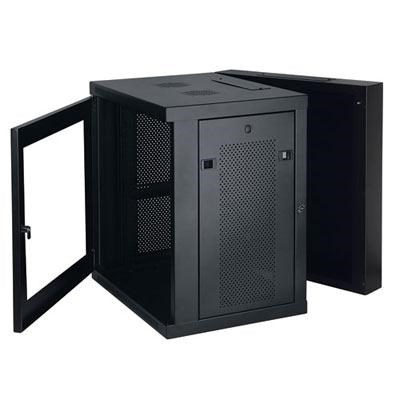 12U Wall Mount Rack Enclosure Cabinet - SRW12USG