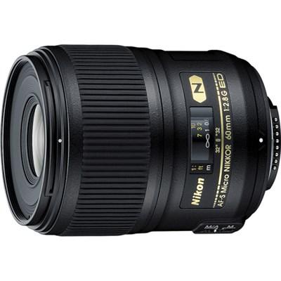 AF-S FX Full Frame Micro-NIKKOR 2177 60mm f/2.8G ED Standard Macro Lens
