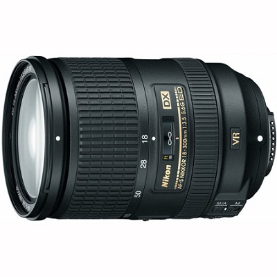 AF-S DX NIKKOR 18-300mm f/3.5-5.6G ED VR - 2196 - FACTORY REFURBISHED