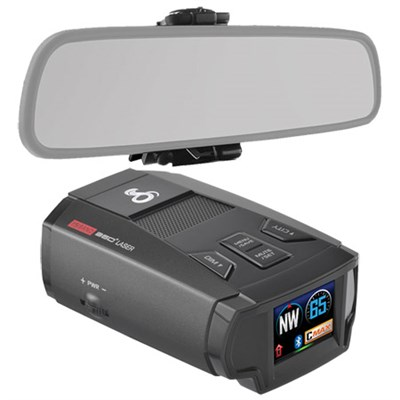 SPX 7800BT Bluetooth Radar/Laser/Camera Detector & Mirror Mount Bundle