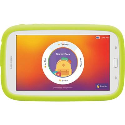 Kids Tab E Lite 7.0` 8GB (Wi-Fi) White with Bumper Case - OPEN BOX