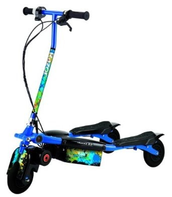 Trikke E2 Electric Motorized Carvr Board Scooter - Blue - 20159460