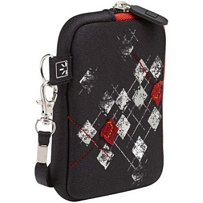 UNZT-2 Compact Camera Case (Black/Argyle)