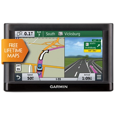 65LM 6` GPS Navigator w/ Spoken Turn-By-Turn Direction & Lifetime Map updates