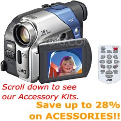 GR-D72US Mini DV Camcorder, 2.37` LCD Screen