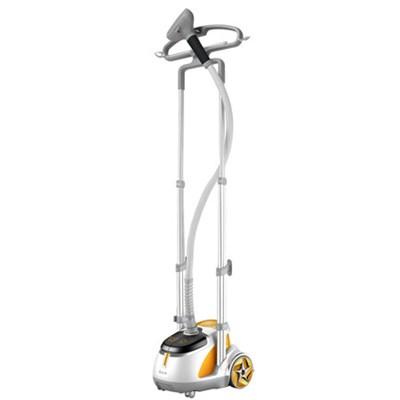 GS45-DJ Professional Series Dual Bar Garment Steamer with Foot Pedals, Orange