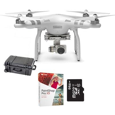 Phantom 3 Case, Corel, Card Bundle