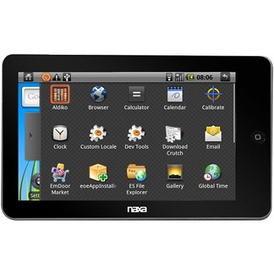NID-7000 core 7` Tablet PC w/ 4gb Built In Memory Powered Android OS - OPEN BOX