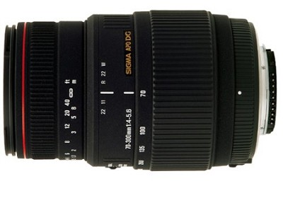 70-300mm f/4-5.6 APO DG Macro Lens for Canon EOS Cameras