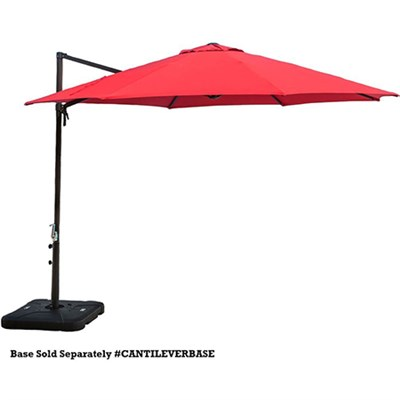 11-Ft. Cantilever Umbrella in Red - CANTILEVER-RED