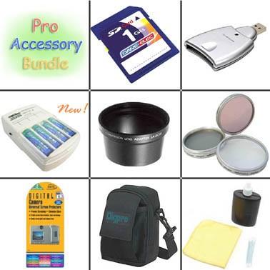 Platinum Accessory Kit for Powershot A510 / A520 / A540 / A480