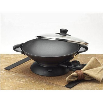 Professional 5 Quart Heavy-Duty Electric Wok