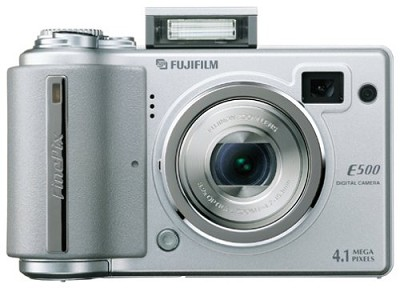 Finepix E500 4MP Digital Camera  W/ 3.2X Opt. Zoom