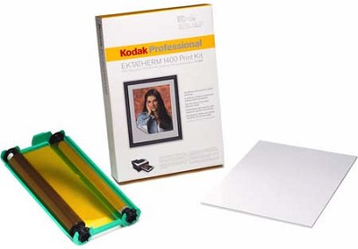 Professional 8.5` x 14` Glossy (25-pack) EKTATHERM 1400 Print Kit