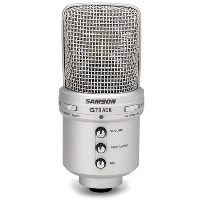 G Track USB Microphone and Audio Interface