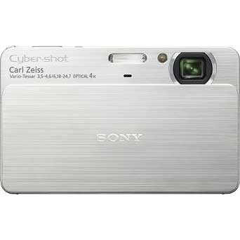 DSC-T70 Cyber-shot 10.1 MP Digital Camera w/ 3.5` Touchscreen (Silver)