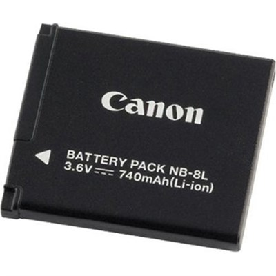 Battery Pack NB-8L for PowerShot A3000 IS and A3100 IS
