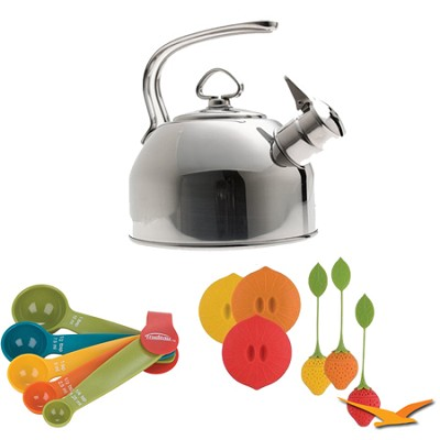 Classic Stainless Steel Kettle-1.8 Quart Bundle