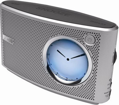 RP5415 Clock Radio with Digital/Analog Display and Line-in for MP3 Players