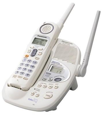KX-TG2224W 2.4GHz Digital Cordless Phone w/Digital Answering Machine