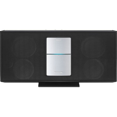 SC-HC05 Compact Stereo System (Black) with Wireless Streaming