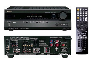 5.1 Channel Home Theater Black Receiver - TX-SR507B