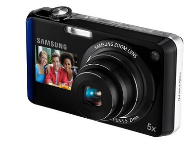 TL210 DualView 12MP Digital Camera (Blue)