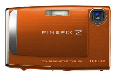 FinePix Z10fd 7.2MP Digital Camera (Orange)