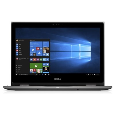 Inspiron i5378-4314GRY 13.3` FHD 7th Gen Intel Core i5 8GB 2-in-1 Laptop, Gray
