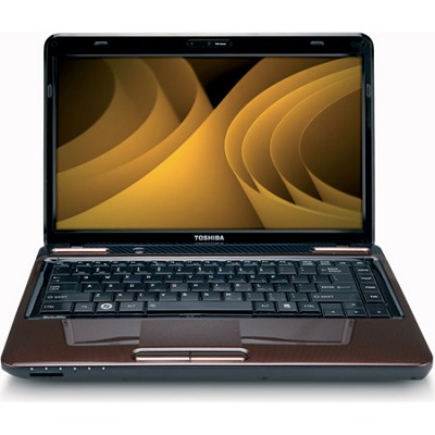 Satellite 14.0` L645-S4104BN Notebook PC - Brown Intel Core i3-380M Processor