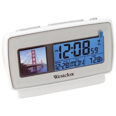 Alarm Clock with Digital 1.5` Digital Photo Album
