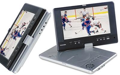 SDP-2700 - 8.8` High Res. Progressive Scan Portable DVD Player w/Swivel Screen