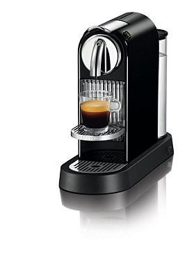 D111-US-BK-NE1 Citiz Espresso Maker, Black