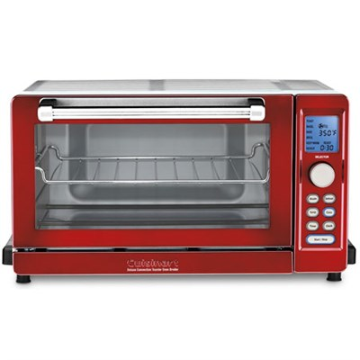 TOB-135 Deluxe Convection Toaster Oven Broiler - Metallic Red