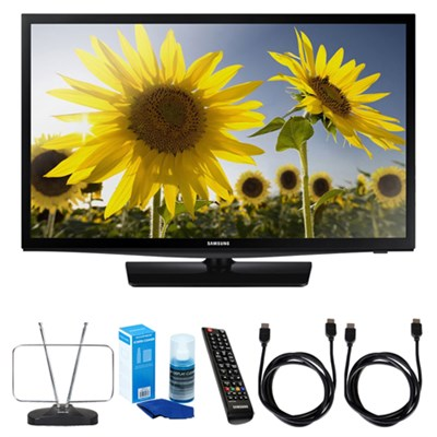 24` 720p HD Slim LED TV-UN24H4000 w/ TV Cut the Cord Bundle
