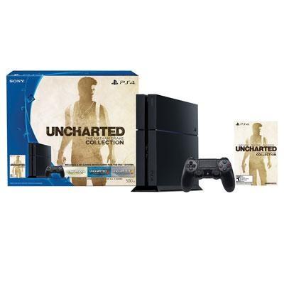 PS4 500GB HW Bundle Uncharted