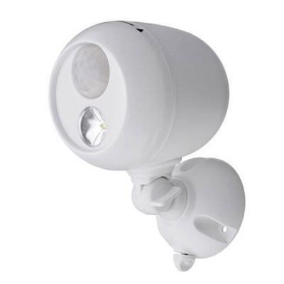 MB330 Wireless LED Spotlight with Motion Sensor & Photocell - White