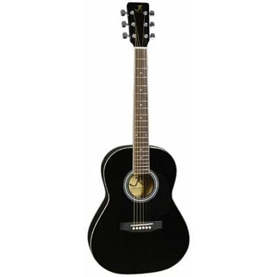 JR14BK 36-Inch Acoustic Guitar - Black