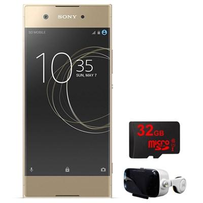 XA1 16GB 5-inch Smartphone Unlocked Gold with 32GB + Virtual Reality Cinema