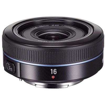 NX 16mm f/2.4 Ultra Wide Pancake Camera Lens - Black - OPEN BOX