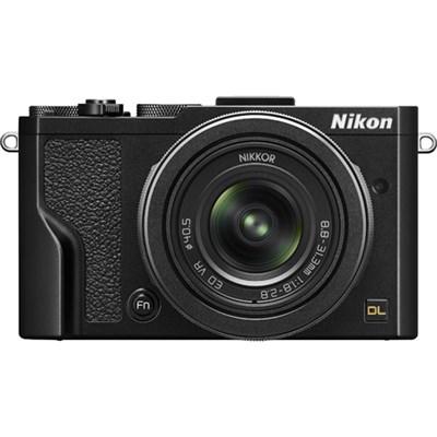 DL24-85 20.8MP 4K UHD Compact Digital Camera w/ 24-85mm f/1.8-2.8 Lens - Black