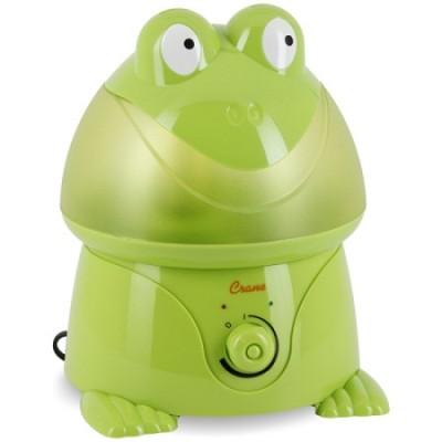 Adorable Ultrasonic 1 Gallon Cool Mist Humidifiers 32 Watts - Frog