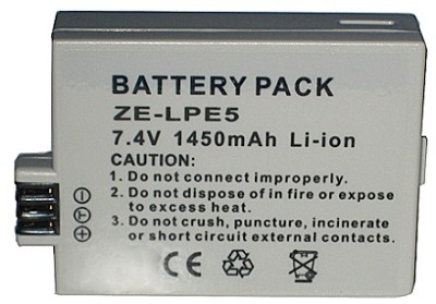 LP-E5 1450mAh Replacement Battery Pack for Canon LP-E5 - for Rebel T1i, XS, XSi