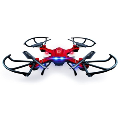 Quadrone Elite Quadcopter with Headless Mode 4 Channel 2.4GHz RC Drone