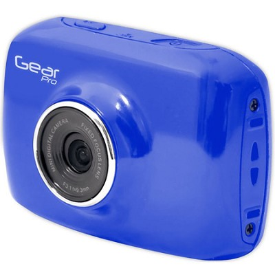 High-Definition Action Camera, 720p Wide-Angle Camcorder With 2.0 Screen- Blue