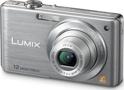DMC-FS15S LUMIX 12.1 MP Compact Digital Camera w/ 5x Optical Zoom (Silver)