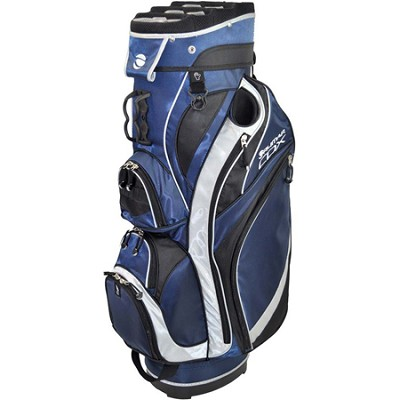 CDX Cart Bag - Navy/Black/Silver
