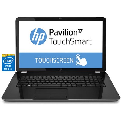 Pavilion TouchSmart 17.3` 17-e160us Notebook PC - Intel Core i5-4200M Processor