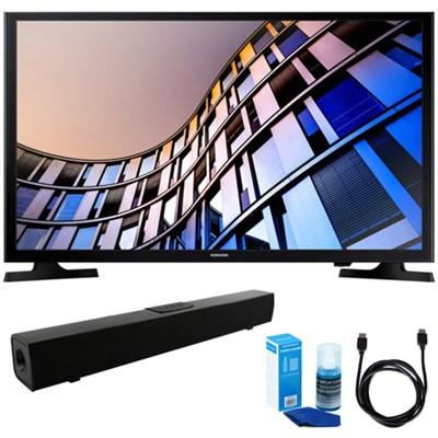 32-Inch 720p Smart LED TV (2017 Model) w/ Sound Bar Bundle
